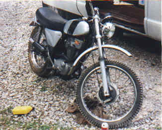 Phil Lawrence´s BSA B50 T (1971)