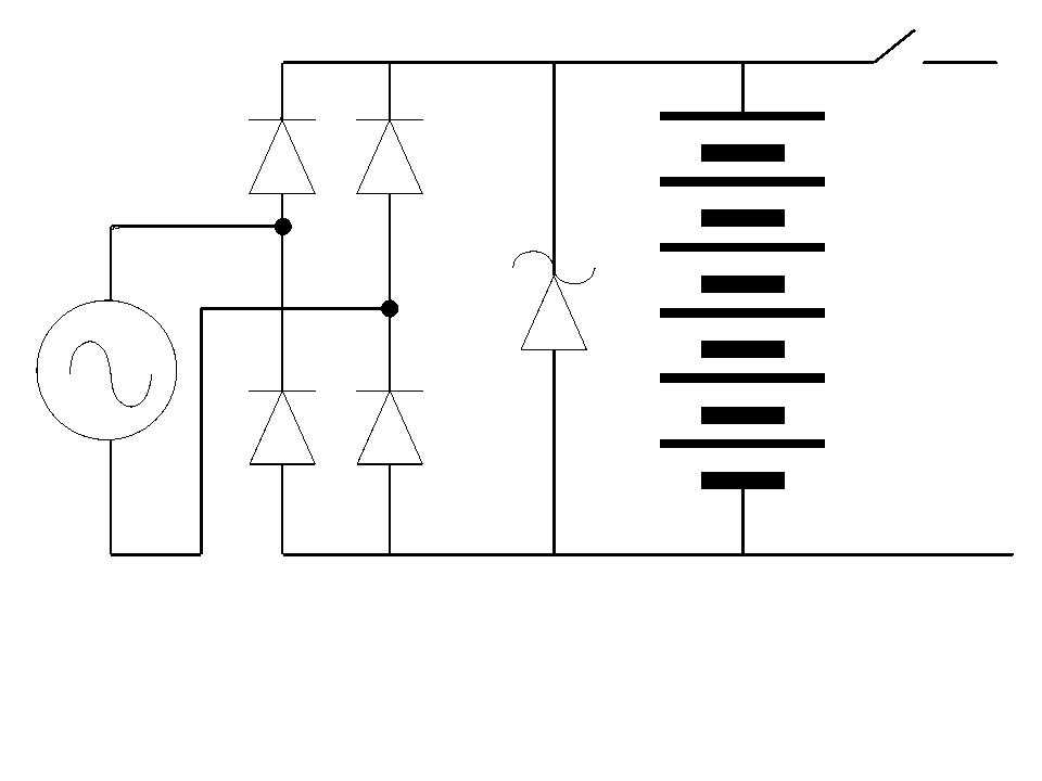 b44 not charging b50 org here is a drawing of a generic charging circuit
